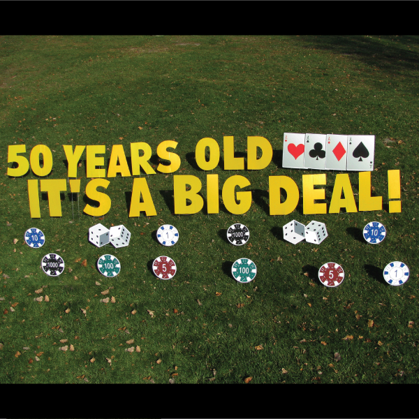 Casino_big_deal_yard_greetings_lawn_signs_cards_happy_birthday_hoppy_over_hill