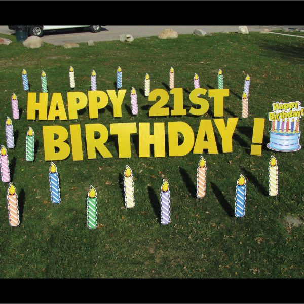 candles_yard_greetings_lawn_signs_cards_happy_birthday_hoppy_over_hill