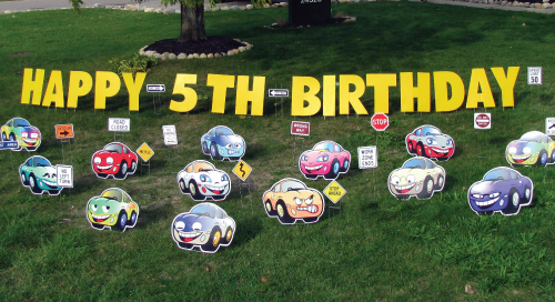 cars_500x271_theme_yard_greetings_cards_lawn_signs_happy_birthday_over_the_hill