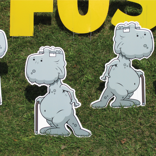 dinosaur2_old_fossil_yard_greetings_lawn_signs_cards_happy_birthday_hoppy_over_hill