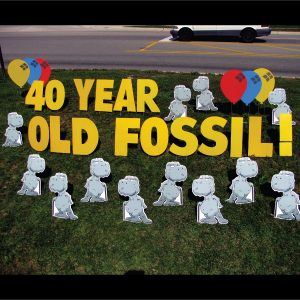 dinosaur_old_fossil_yard_greetings_lawn_signs_cards_happy_birthday_hoppy_over_hill