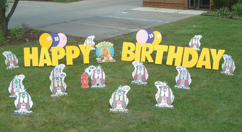 dogs_Yard_Greetings_Cards_Lawn_Signs_Happy_Birthday_Over_the_hill
