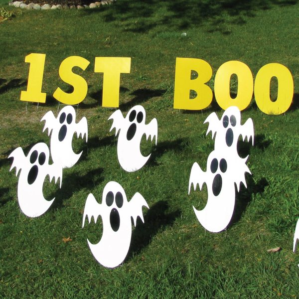 ghosts2_halloween_yard_greetings_lawn_signs_cards_happy_birthday_hoppy_over_hill