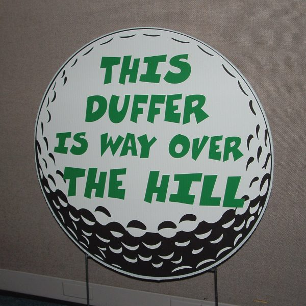 go10_golf_duffer_over_the_hill_happy_birthday_yard_greetings_cards_lawn_signs_sports