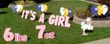 Yard Greetings Happy Birthday Lawn Signs Packages