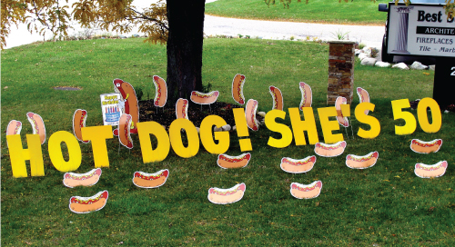 hot_dog_Yard_Greetings_Cards_Lawn_Signs_Happy_Birthday_Over_the_hill