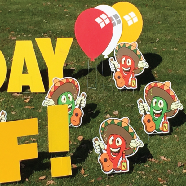 hot_peppers_2_yard_greetings_lawn_signs_cards_happy_birthday_hoppy_over_hill