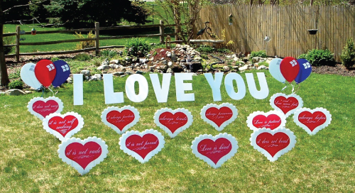 love_just_married_congratulations_Yard_Greetings_Cards_Lawn_Signs_Happy_Birthday_Over_the_hill
