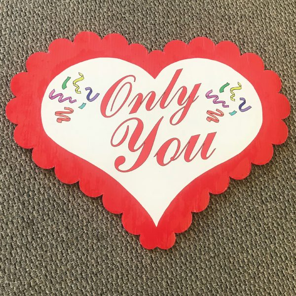 only_you_hearts_love_yard_greetings_cards_lawn_signs_happy_birthday_over_hill_anniversary