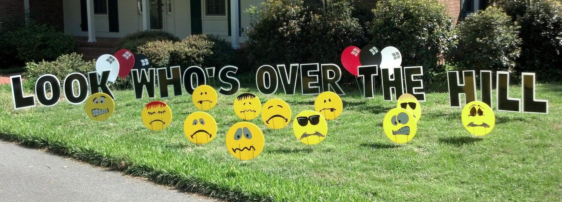 yard greetings® lawn signs  happy birthday  yard cards
