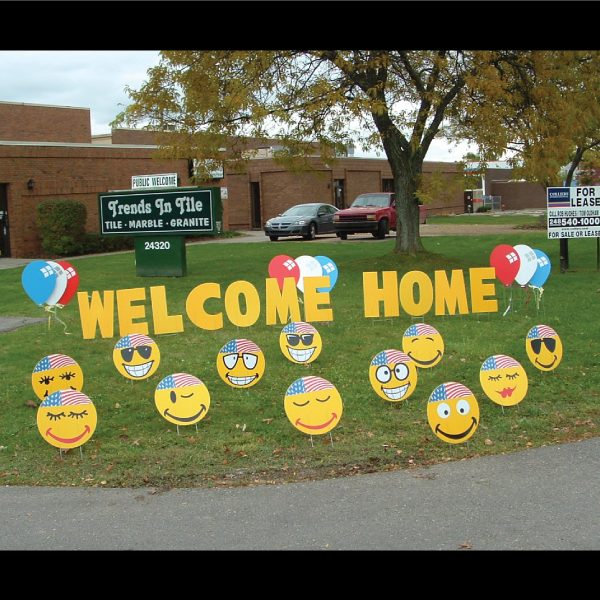 welcome_home_patriotic_smiley_faces_yard_greetings_lawn_signs_cards_happy_birthday_hoppy_over_hill