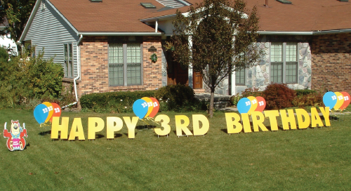 Bear_balloons_Yard_Greetings_Cards_Lawn_Signs_Happy_Birthday_Over_the_hill