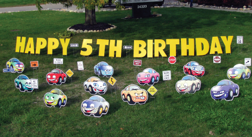 cars_Yard_Greetings_Cards_Lawn_Signs_Happy_Birthday_Over_the_hill