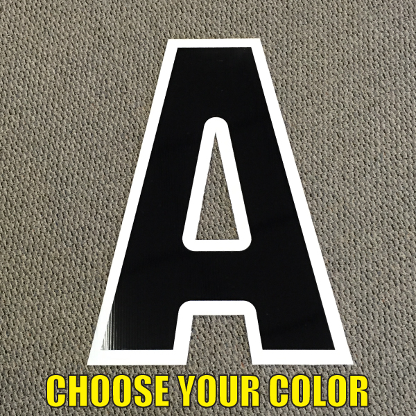 choose letter a coroplast letters corrugated plastic for the lawn happy birthday