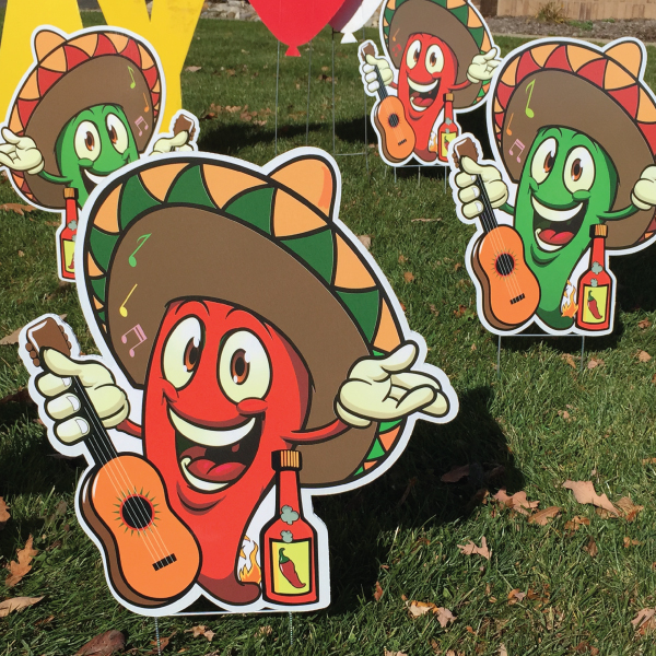 hot_peppers_dozen_yard_greetings_cards_lawn_signs_happy_birthday_over_the_hill