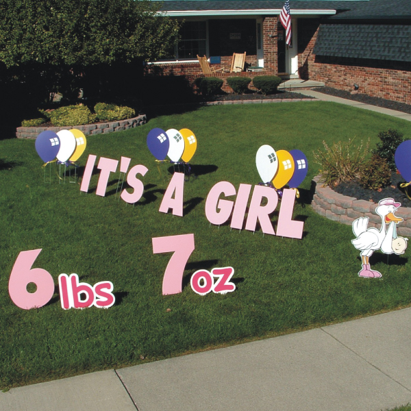 its_a_girl_newborn_Yard_Greetings_Cards_Lawn_Signs_Happy_Birthday_Over_the_hill