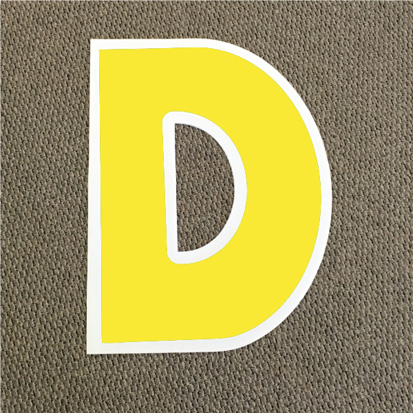 letter-d-yellow-and-white-yard-greeting-card-sign-happy-birthday-over-the-hill-plastic