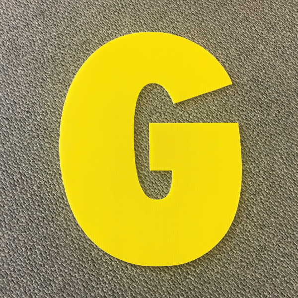 letter-g-yellow-yard-greeting-card-sign-happy-birthday-over-the-hill-plastic