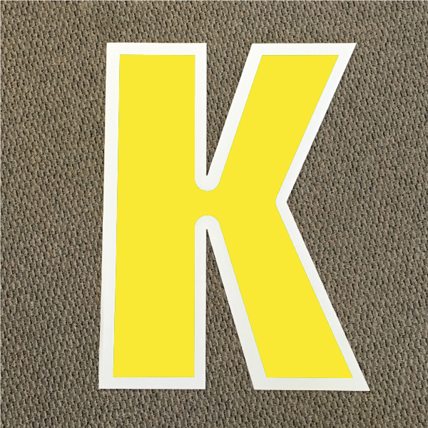 letter-k-yellow-and-white-yard-greeting-card-sign-happy-birthday-over-the-hill-plastic
