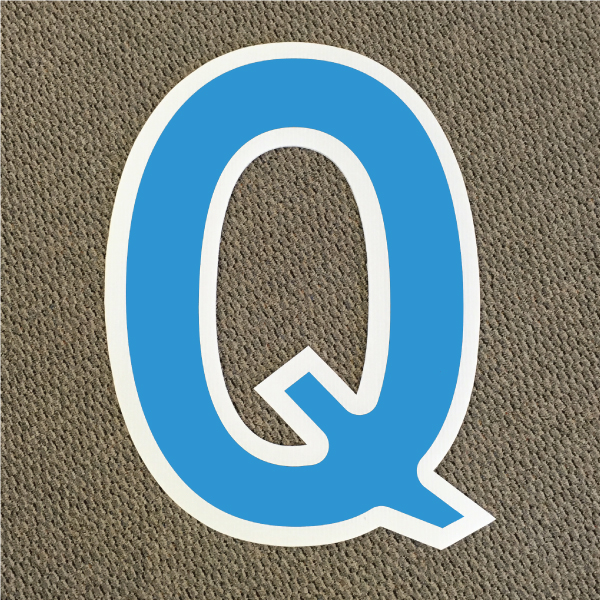 letter-q-blue-and-white-yard-greeting-card-sign-happy-birthday-over-the-hill-plastic