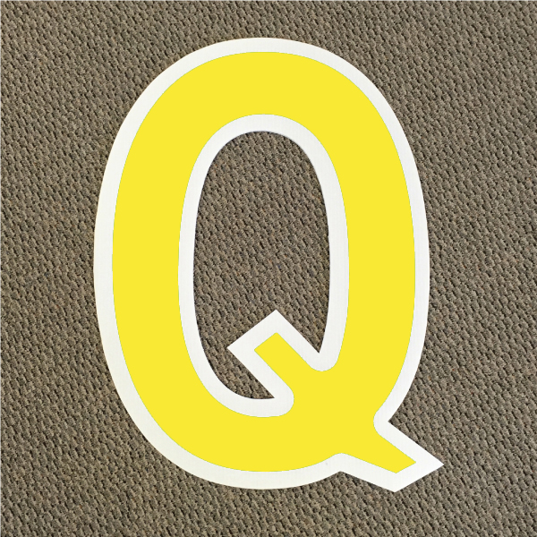 letter-q-yellow-and-white-yard-greeting-card-sign-happy-birthday-over-the-hill-plastic