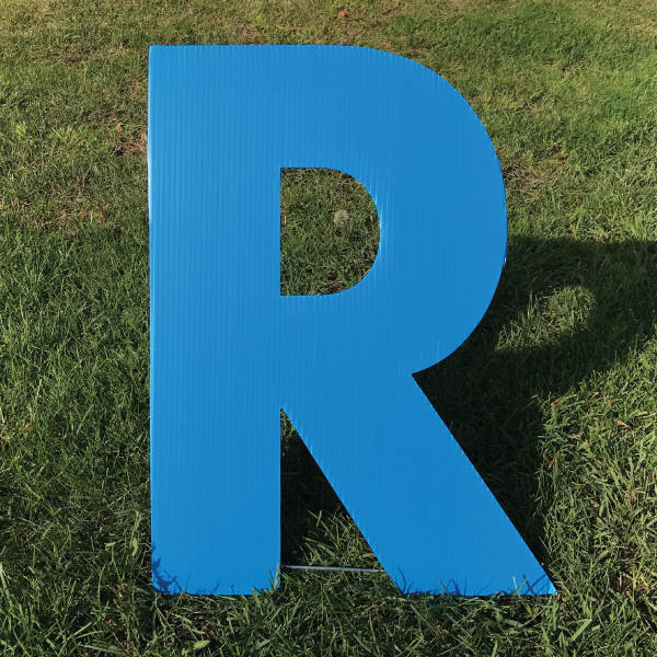 letter-r-blue-yard-greeting-card-sign-happy-birthday-over-the-hill-plastic