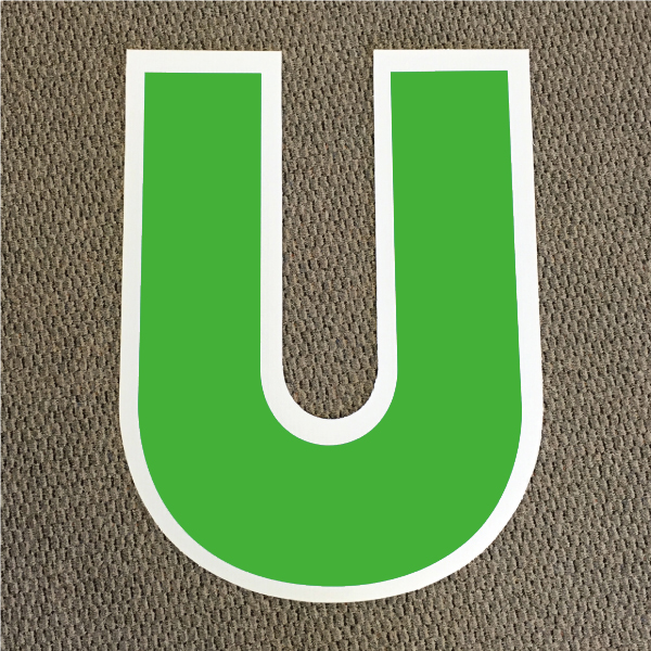 letter-u-green-and-white-yard-greeting-card-sign-happy-birthday-over-the-hill-plastic