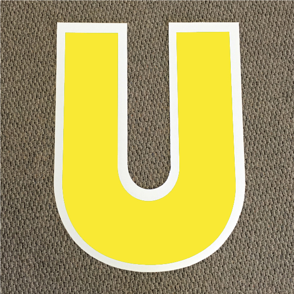 letter-u-yellow-and-white-yard-greeting-card-sign-happy-birthday-over-the-hill-plastic