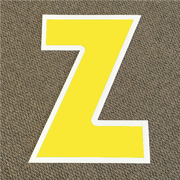 letter-z-yellow-and-white-yard-greeting-card-sign-happy-birthday-over-the-hill-plastic