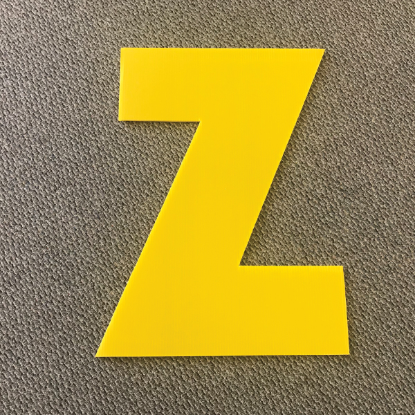 letter-z-yellow-yard-greeting-card-sign-happy-birthday-over-the-hill-plastic