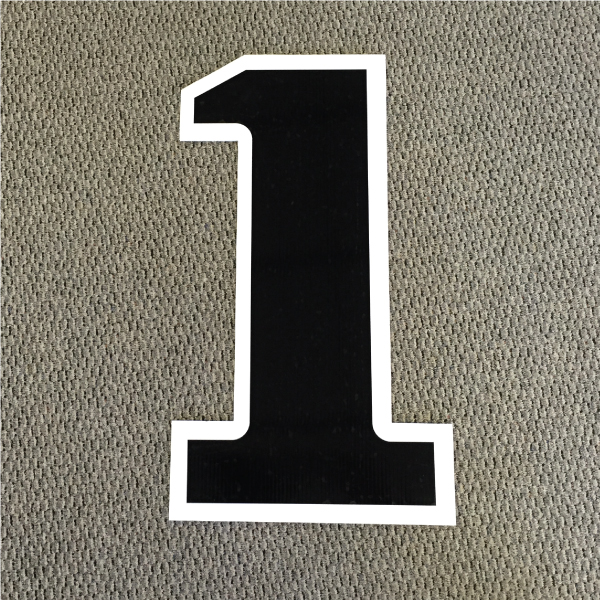 number-1-black-and-white