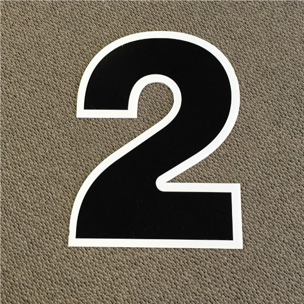 number-2-black-and-white