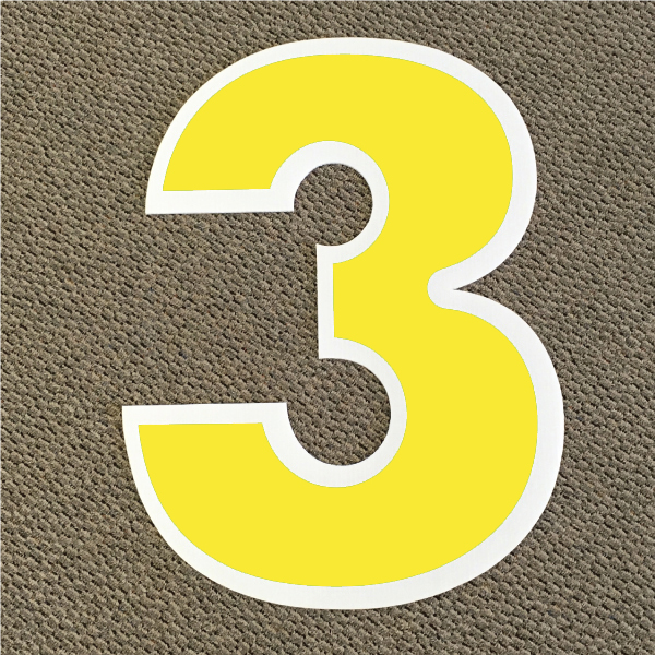 number-3-yellow-and-white-yard-greeting-card-sign-happy-birthday-over-the-hill-plastic