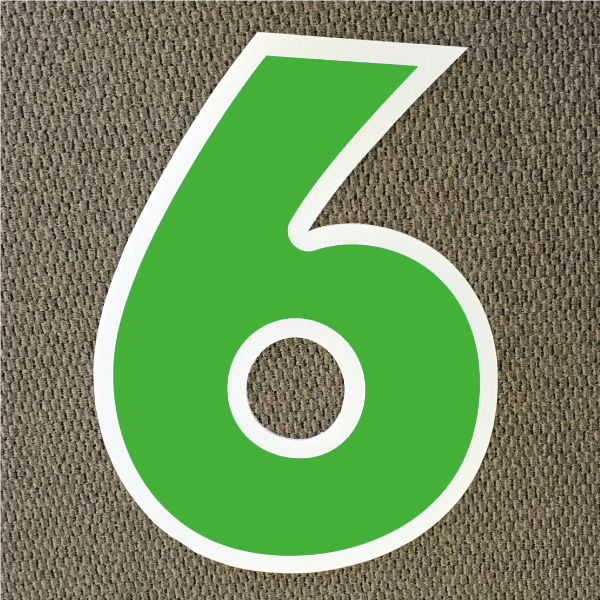 number-6-green-and-white-yard-greeting-card-sign-happy-birthday-over-the-hill-plastic
