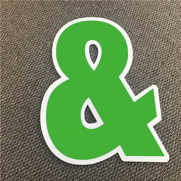 symbol-ampersand-green-and-white-yard-greeting-card-sign-happy-birthday-over-the-hill-plastic