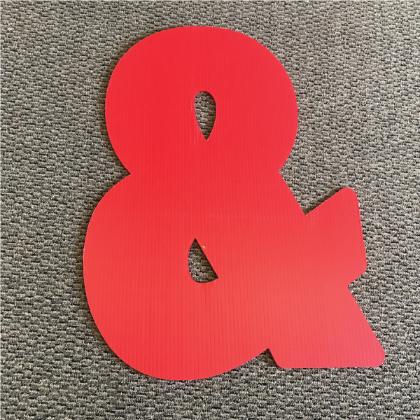 symbol-ampersand-red-yard-greeting-card-sign-happy-birthday-over-the-hill-plastic