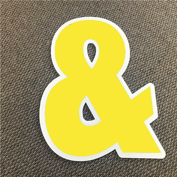 symbol-ampersand-yellow-and-white-yard-greeting-card-sign-happy-birthday-over-the-hill-plastic