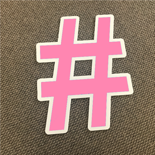 symbol-hashtag-pink-and-white-yard-greeting-card-sign-happy-birthday-over-the-hill-plastic