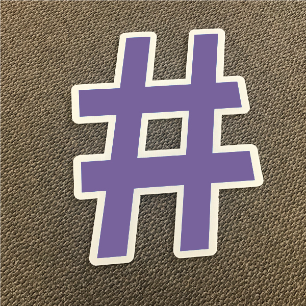 symbol-hashtag-purple-and-white-yard-greeting-card-sign-happy-birthday-over-the-hill-plastic