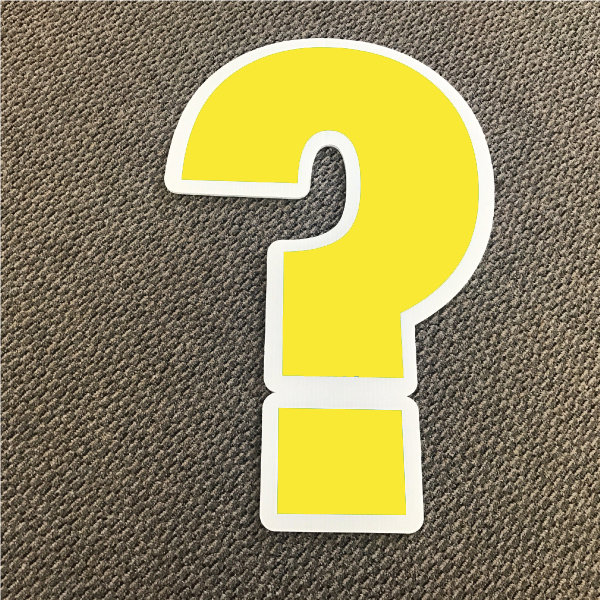 symbol-question-yellow-and-white-yard-greeting-card-sign-happy-birthday-over-the-hill-plastic
