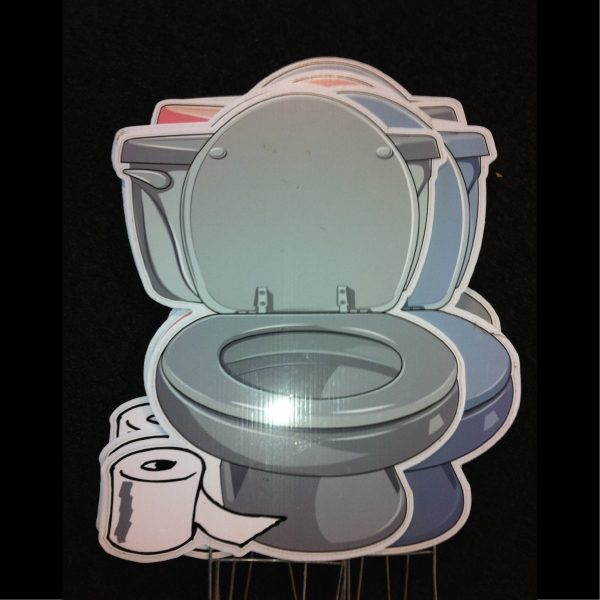 toilets_dozen_yard_greetings_cards_lawn_signs_happy_birthday_over_the_hill