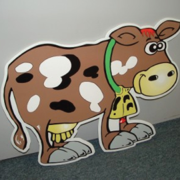 COWBRR4_cow_yard_greetings_cards_lawn_signs_happy_birthday_over_the_hill