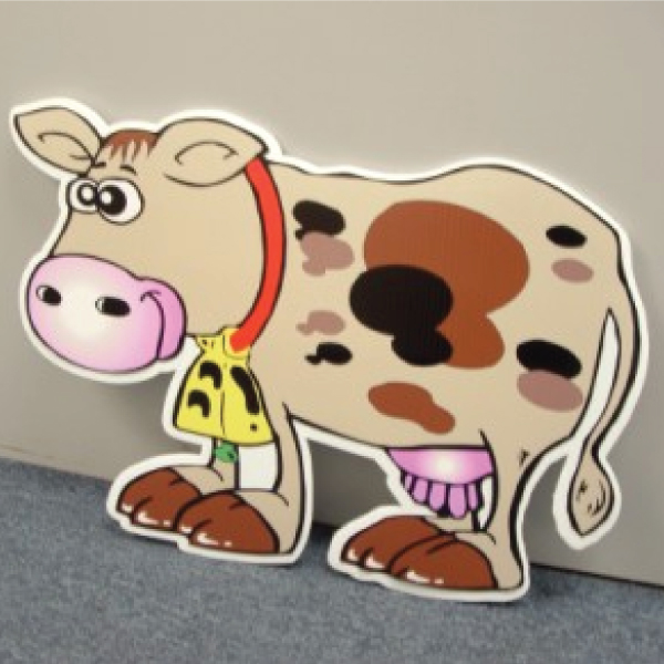 COWTL7_cow_yard_greetings_cards_lawn_signs_happy_birthday_over_the_hill