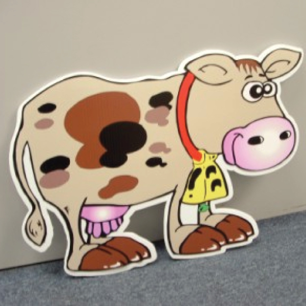 COWTR8_cow_yard_greetings_cards_lawn_signs_happy_birthday_over_the_hill