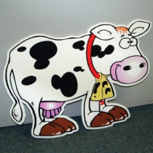 COWWOR12_cow_yard_greetings_cards_lawn_signs_happy_birthday_over_the_hill