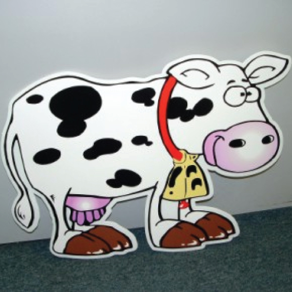 COWWR10_cow_yard_greetings_cards_lawn_signs_happy_birthday_over_the_hill