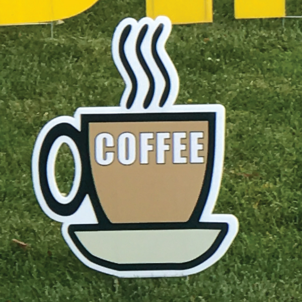 coffee_cup_brown_yard_greetings_lawn_signs_cards_happy_birthday_hoppy_over_hill