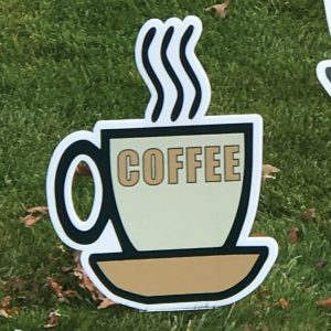 coffee_cup_left_tan_yard_greetings_lawn_signs_cards_happy_birthday_hoppy_over_hill