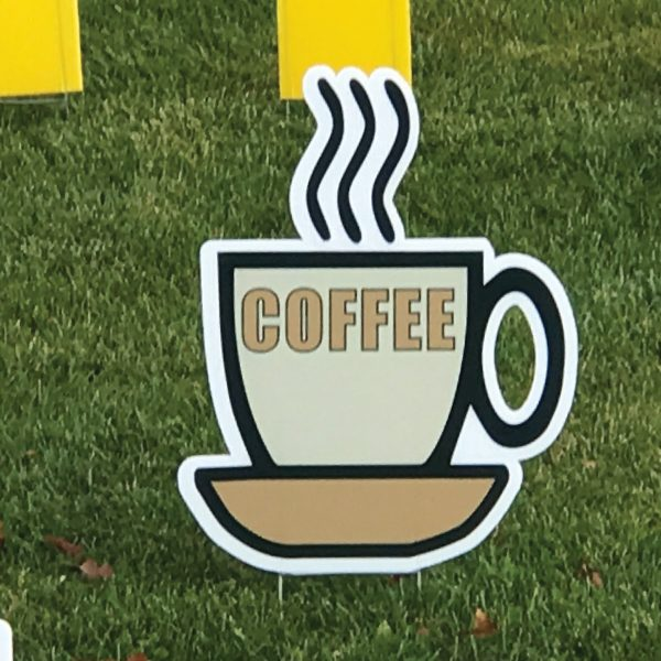 coffee_cup_right_tan_yard_greetings_lawn_signs_cards_happy_birthday_hoppy_over_hill