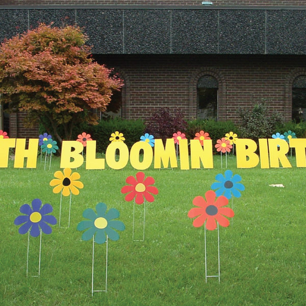 flowers2_bloomin_yard_greetings_lawn_signs_cards_happy_birthday_hoppy_over_hill
